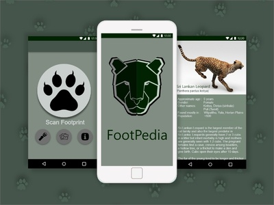 Footpedia Android Application Design