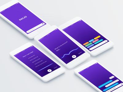 Payjo's Ai Banking App