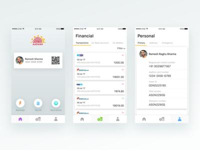 Aadhar identity app