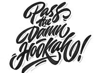 "sketch, print-""Pass the damn hookah!"" 👀 for @smokespot_spb"