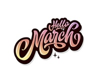 Hello March!!!🏃🏄 yep!