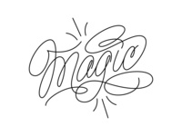 "my lettering ""Magic"""