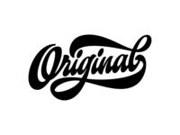 "my lettering ""Original"""