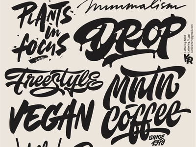 My lettering mix 2 2018 sign design type illustration calligraphy handlettering sketch logotype lettering hand logo
