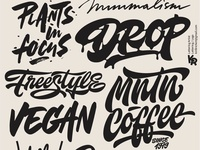 My lettering mix 2 2018