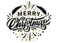 """Hey! My lettering """"Merry Cristmas"""""""