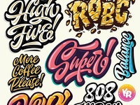 Hey! My lettering mix
