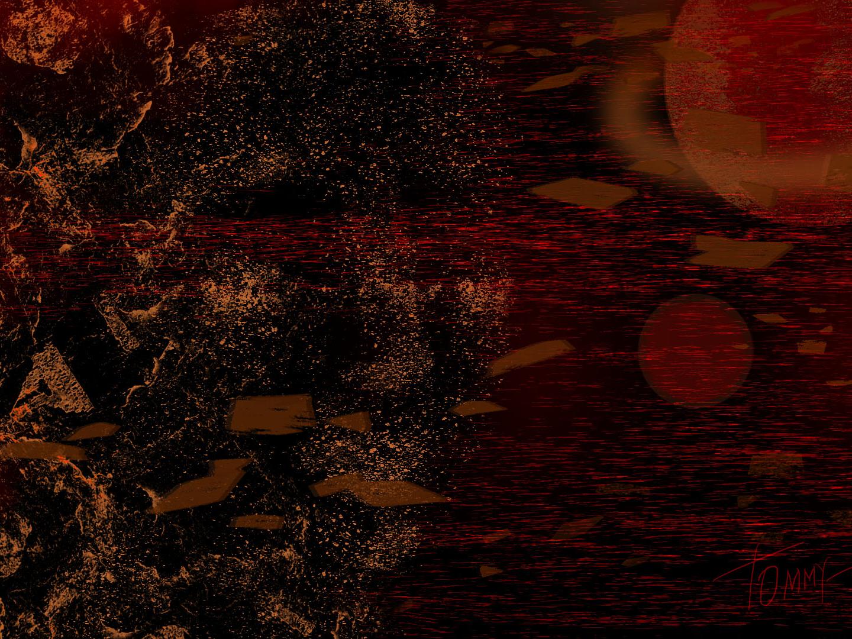Little dark art cyberpunk digitalartist background design neon colors wallpaper background art design magic digital 2d dark art art textures decorative illustration adobe photoshop