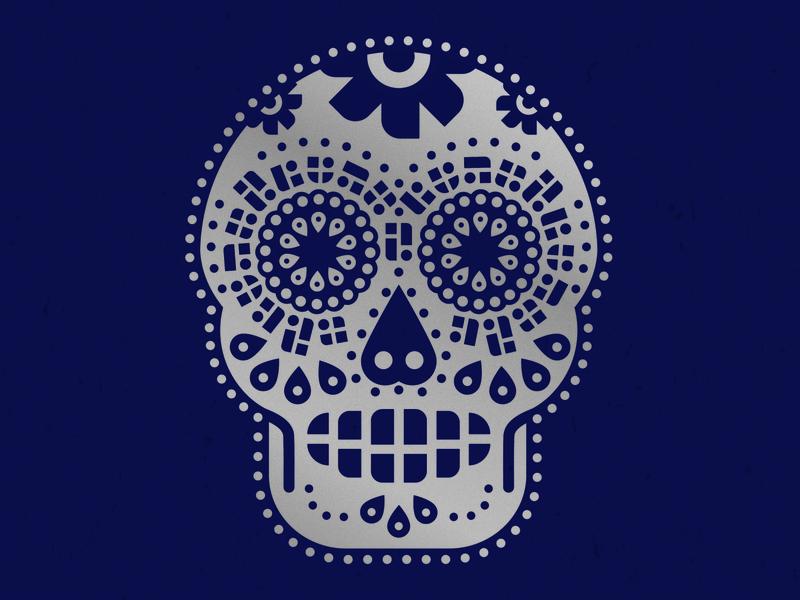 Passport Sugar Skull passport shirt print illustration logo sugar skull skull halloween screen printing