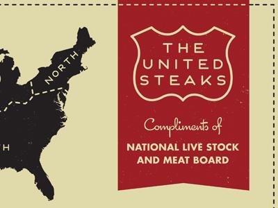 United steaks ribbon