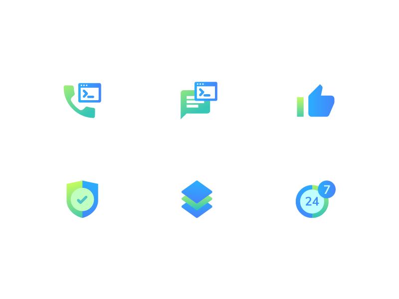Gradient Icons gradient design icon