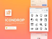 ICONDROP - A SketchApp Plugin