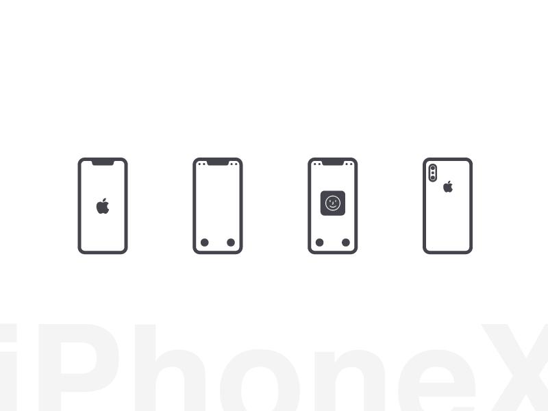 Iphonex Glphy