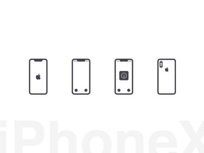 Iphonex Glphy glphy icons freebie apple iphone iphonex