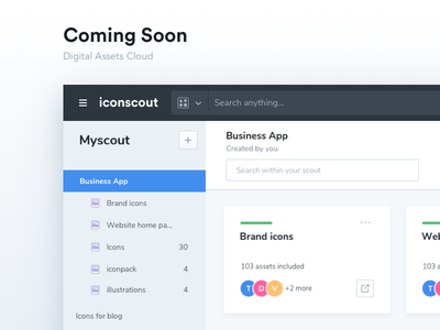 Big Update on the way design digital cloud assets icons iconscout scout