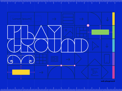 Take the Playground element playoff contest design web wix playground