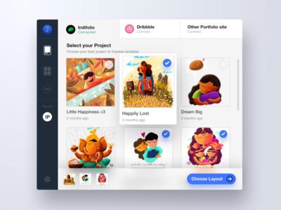 Chrome Extension for Designers portfolio gmail email indiefolio insert designers extension chrome
