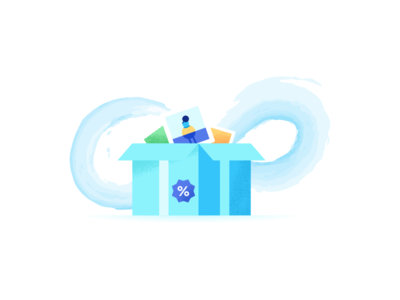 Infinity Storage iconscout myscout storage infinity illustration design