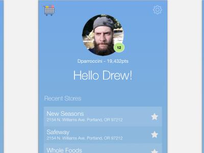 Shopping Game cartracer sketch mobile app