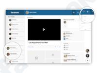 Facebook v 2.0 - a Flat Approach