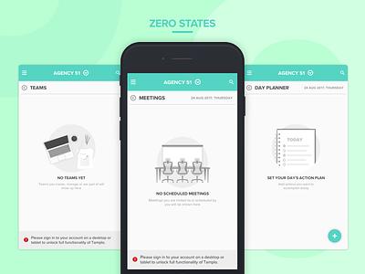 Zero States illustrations zero state