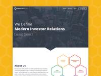 Omnicor Media Website Design