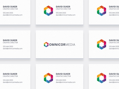 Omnicor Media Business Cards