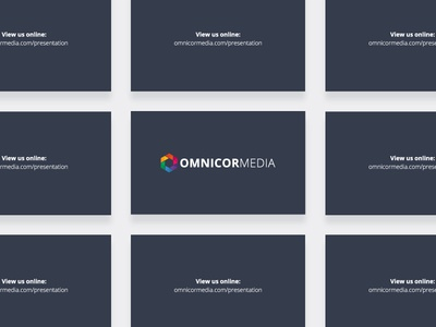Omnicor Media Presentation Card