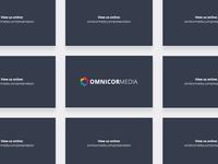 Omnicor Media Presentation Card