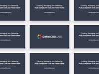 Omnicor Labs Presentation Cards
