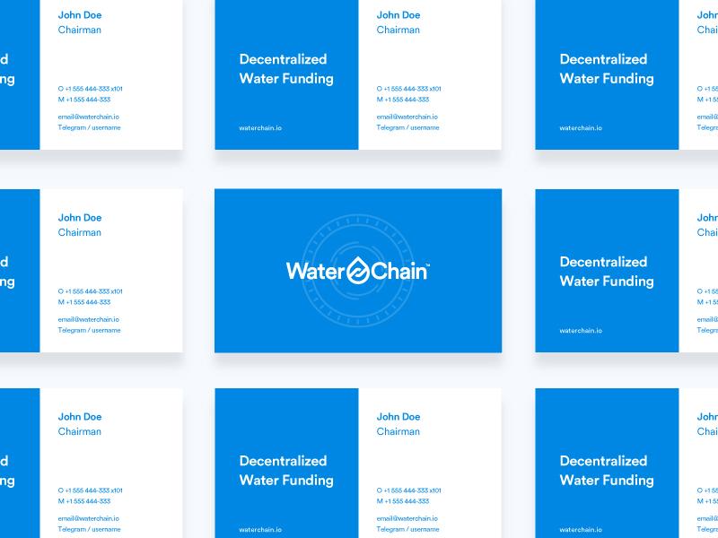 WaterChain Business Card business card
