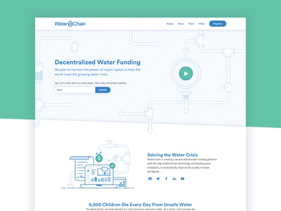 WaterChain Website