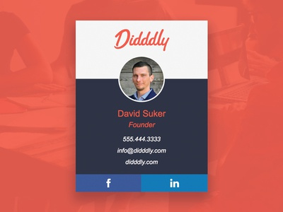 Didddly Email Signature avatar email email signature
