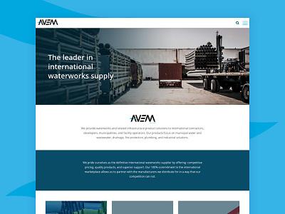Avem Water - Website Design & Development