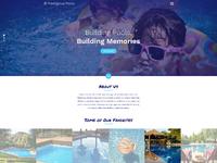 Pretigious pools website v01