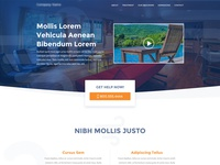 Home Page Mockup for Mental Health Facility