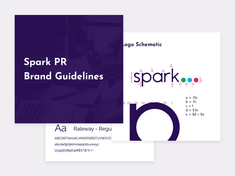 Spark Brand Guidelines typography brand guidelines
