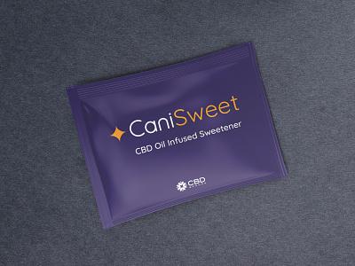 CaniSweet Package Mockup sweetener cbd package mockup