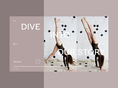 Brand Experiments - UNDRESS CODE website design branding ux web design ui design minimal website web ui design