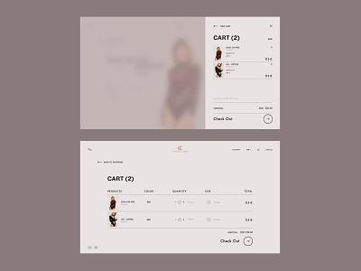 UNDRESS CODE - Redesign Concept web design branding ui design minimal website website design ux web ui design
