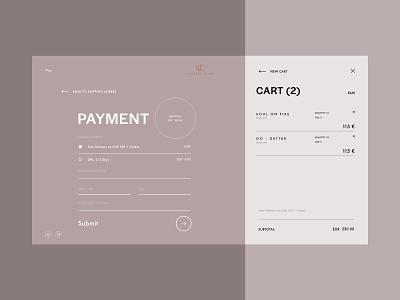 Payment page - Undress Code minimal website design web design web ui ux ui design website branding e-comerce design lingerie
