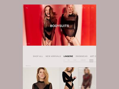 UNDRESS CODE Design Concept ux website design web design ui design minimal website web ui branding design