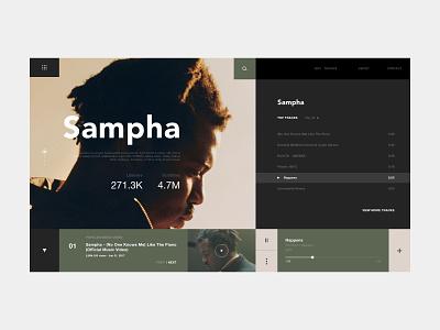 Music Website Concept app graphic design music player music uiux ui website design website ui design web