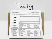 Tasting Kit - Tasting Notes Notepad