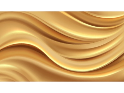Gold background abstract illustration mesh cartoon vector design illustrator ill flow waves gold