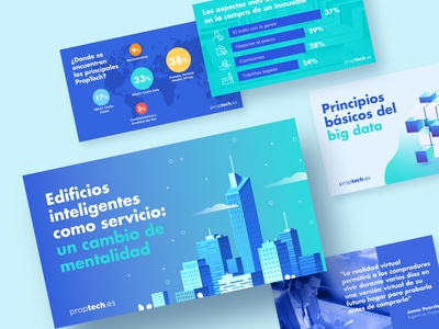 Social Media Content restyling for Proptech.es
