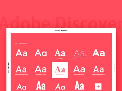 Website Adobe Discover