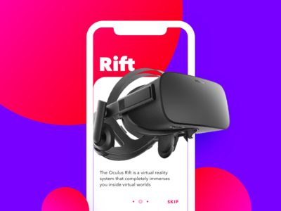 Daily UI #023 - Onboarding ui iphone x oculus sketch 023 daily ui onboarding