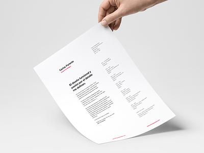 My resume: Clean and minimal. typography personal helvetica clean resume minimal
