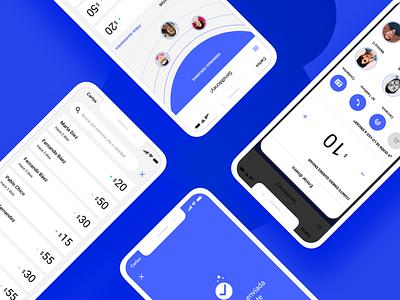 Sendmoney bank app fintech money bank ux minimal ui app